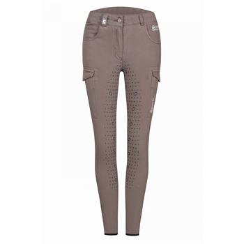 CAVALLO Damen-Vollbesatzreithose Casca Pro Grip Stretch