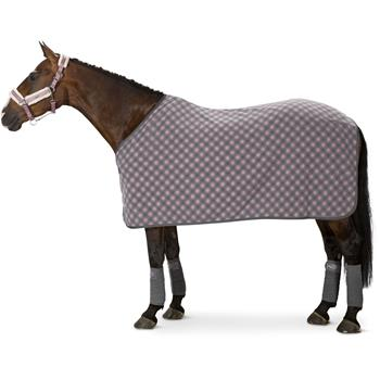 ESKADRON Classic Sports Abschwitzdecke Fleece Checked
