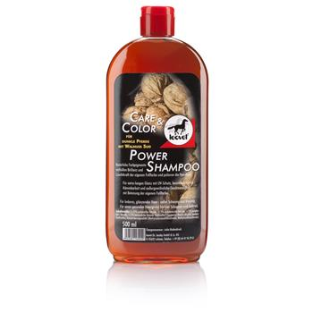 LEOVET Power Shampoo Walnuss dunkle Pferde 500 ml