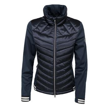 PIKEUR Damen-Softshell-Materialmix-Jacke Calina