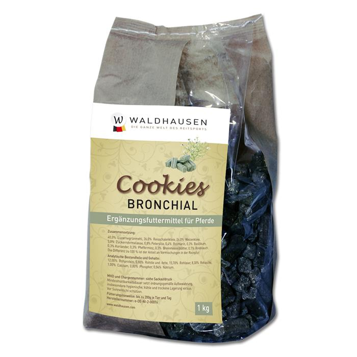 WALDHAUSEN Cookies Bronchial 1 kg